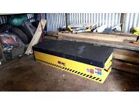 Van vault for tipper as new