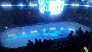 Toronto Maple Leafs Tickets **Second Row Purples**