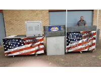 Burger bar/hotdog stand