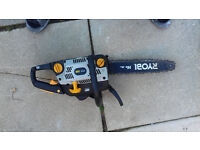 "RYOBI PCN 3335 14"" CHAIN SAW IN GOOD WORKING ORDER"