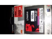 Brand new Kingston 120GB SSD hard drive