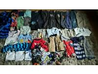 Massive clothes bundle boys age 3-4 yr