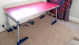 Large IKEA table ideal for arts and crafts etc.