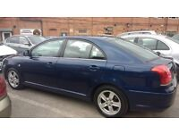 TOYOTA AVENSIS 1.8, GEDLING PLATED TAXI FOR SALE, EXCELLENT CONDITION,ALL REDY FOR WORK, 07940567241