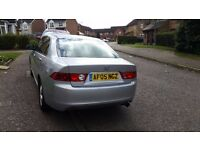 2005 HONDA ACCORD, 2.O LITRE ENGINE, MANUAL, PETROL, SILVER, MAIN DEALER SERVICES HISTORY UP TO DATE