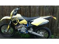 Husaberg fe450s enduro road legal bike
