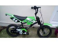 "Kids bike scrambler style age 5-8. 16"" wheel"