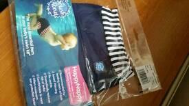 Happy nappy swim nappy new Medium navy blue