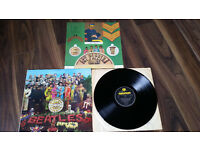 THE BEATLES VINYL LP RECORD