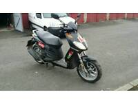 Aprilia 125cc city one bike 2011