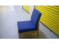 Office lounge chairs x 6