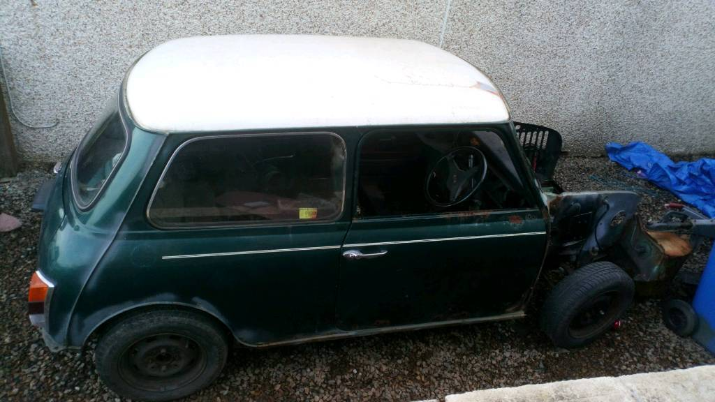 Classic Mini Cooper Rolling Chassis In Shotts North
