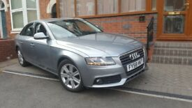 AUDI A4 B8 2009 (58) 2.0 TDI ONLY 65000 MILES* EXCELLENT CONDITION, IMMACULATE CAR* BARGAIN PRICE