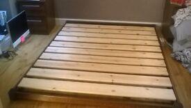 low bed frame , kingsize