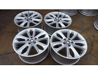 "4x GENUINE ALLOY WHEELS SEAT IBIZA 16"" MK4 MK5 6J0601025N VW SKODA AUDI 5x100"