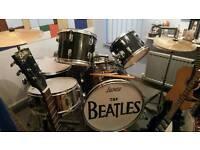 Various Beatles memorabilia