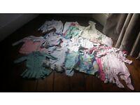 Baby girls 0-3 Clothing bundle