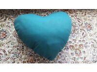 Cute Green Heart Cushion