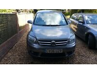 VW Golf Plus GT 2.0 Diesel 2006 model in excellent condition.