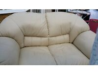 Free leather 2 seater sofa collection only
