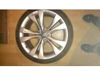 Vauxhall alloy wheel single 20 inch