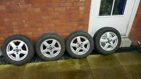 Citroen alloy wheels