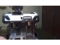 Tall group coffee machine