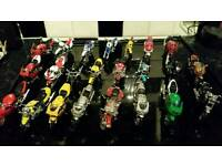 23 Maisto Model motorcycles