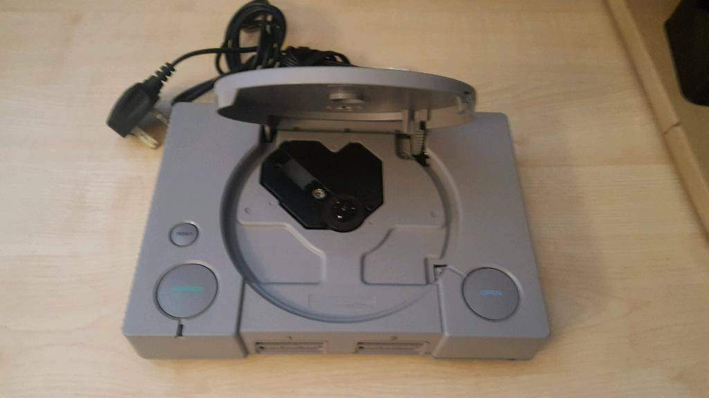 PlayStation With two working controllers and memory cards