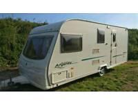 Avondale Argente 550/4 Family Caravan