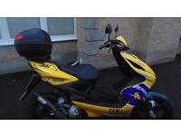 Yamaha Aerox YQ50 49cc/50cc Moped, Scooter- Good Condition £450 ONO