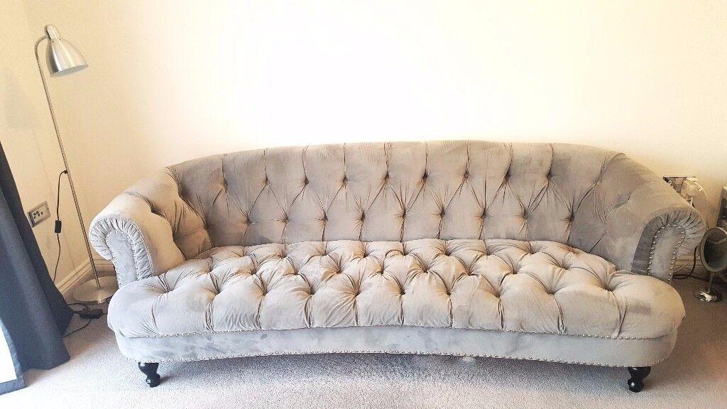 Vintage Look Sofa