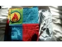 Fireman Sam toddler duvet set and fitted cotbed bedsheet