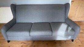 Made Reuben 3 seater fabric sofa