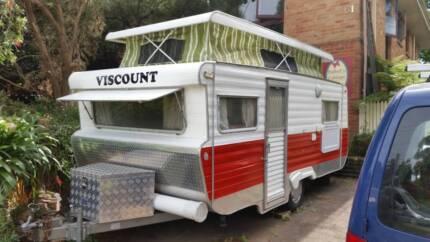15ft Retro/Vintage Viscount Caravan with annex Dundas Valley Parramatta Area Preview
