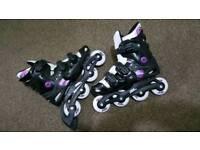Roller blades Roller boots size 5-8 adjustable