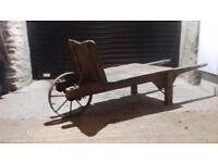 Antique/vintage wheelbarrow