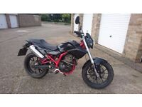 Derbi Mulhacen 125cc, Low mileage, 1 year MOT