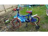16inch spiderman bike