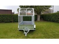 BRAND NEW MODEL 7.7x4.2 DOUBLE AXLE TRAILER- CAMPING TRAILER WITH 80 MESH 750KG