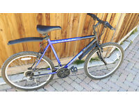 Universal Fusion mountain bike with mud guards fully working £50.