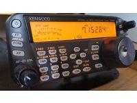 Kenwood TS-480SAT HF/6m Transceiver & Signalink USB Soundcard