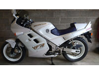 Honda VFR750 F 1990 White 22300 miles Excellent condition