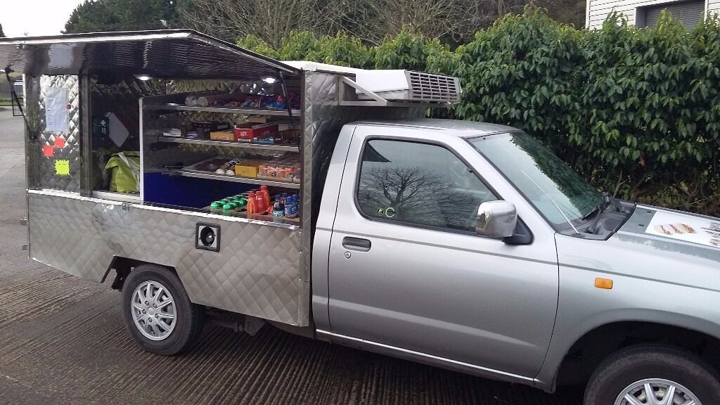 Nissan Pick Up D22 >> Hot Cold Food Catering Van For Sale (Jiffy Van) Nissan Pick-Up | in Strabane, County Tyrone ...