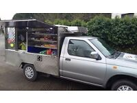 Hot Cold Food Catering Van For Sale (Jiffy Van) Nissan Pick-Up