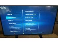 "Philips 49"" 4K Ultra HD Slim LED TV"