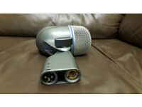 Microphone . Shure beta 52 bass mint condition