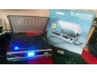 Steepletone 3 Speed Record Player