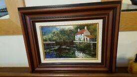 Dallas K Taylor original oil painting