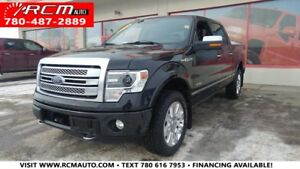2013 Ford F-150 Platinum 4X4 ECOBOOST CREWCAB - BEAUTIFUL TRUCK